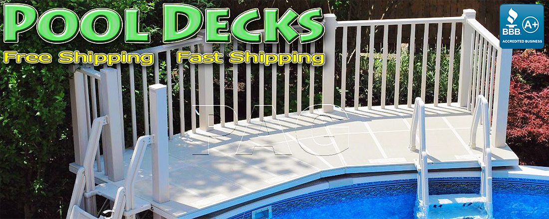 Above Ground Pool Decks For Houston TX